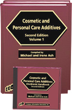 Handbook of Cosmetic and Personal Care Additives (Book and Software)