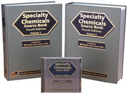 Specialty Chemicals Source Book (Book and Software)