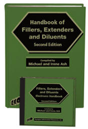 Handbook of Fillers, Extenders, and Diluents, Second Edition (Book and Software)
