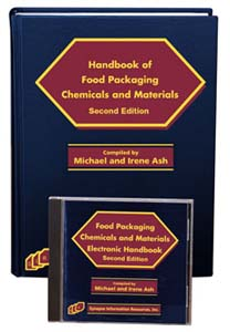 Handbook of Food Packaging Chemicals and Materials, Second Edition (Book and Software)